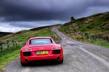 Audi R8 in Dunbar