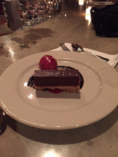 Chocolate Terrine. Speechless.