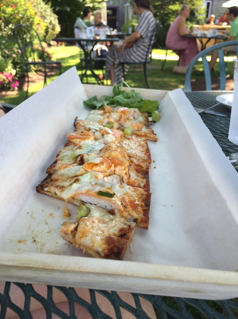 Buffalo Chicken Flatbread