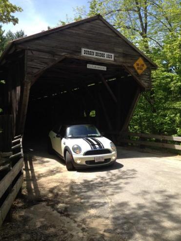 Our Mini Cooper S on a #roadtrip