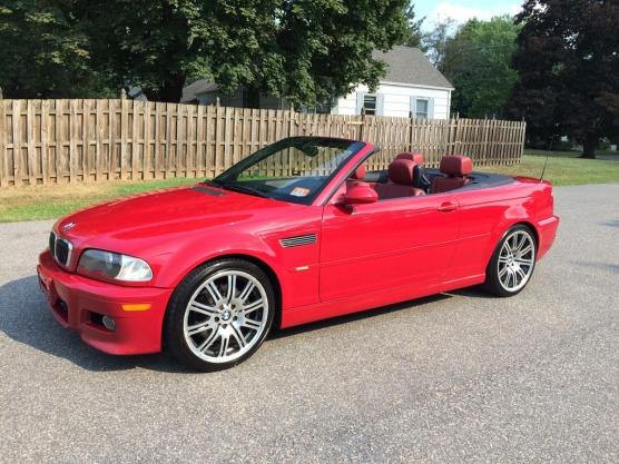 BMW Red M3