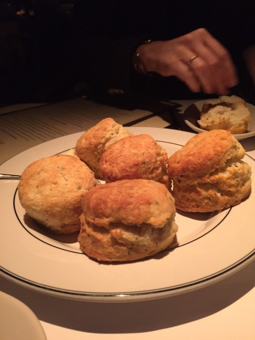 Homemade biscuits + honey. Incredible.