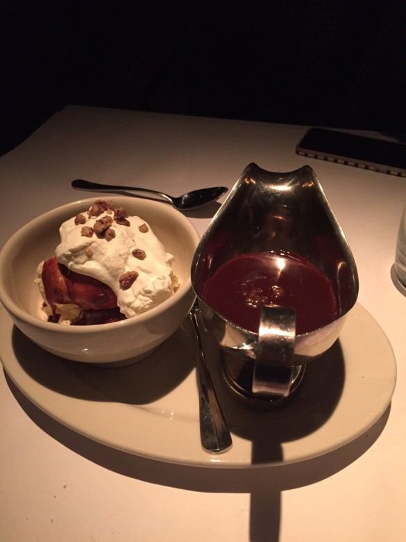 East Hampton Grill Chocolate Ice Cream Sundae