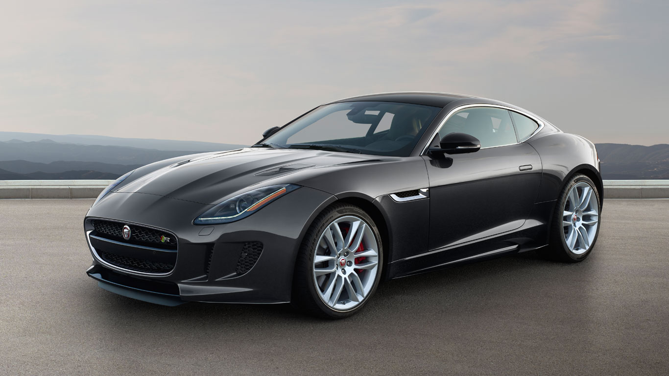 Blacked Out Jaguar F Type