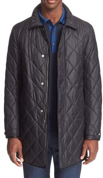 Burberry: 'Kenworth' Quilted Coat $1595