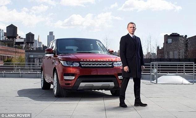 Daniel Craig Land Rover