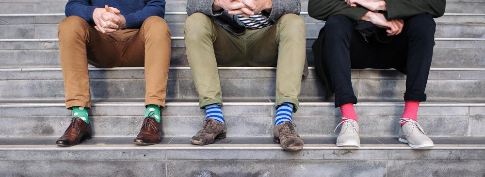 Mens Socks, Colorful Socks, Luxury Lifestyle