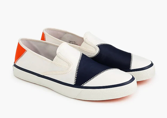 J Crew SPERRY & BIONIC Collabo